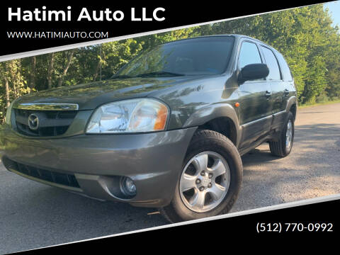 2002 Mazda Tribute for sale at Hatimi Auto LLC in Buda TX