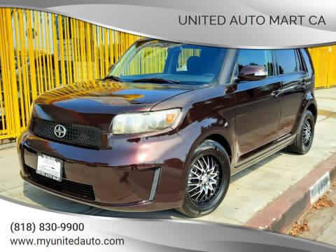 2008 Scion xB for sale at UNITED AUTO MART CA in Arleta CA