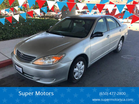 2003 Toyota Camry for sale at Super Motors in San Mateo CA