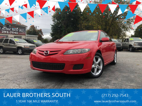 2008 Mazda MAZDA6 for sale at LAUER BROTHERS SOUTH in York PA