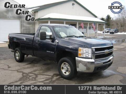 2009 Chevrolet Silverado 2500HD for sale at Cedar Car Co in Cedar Springs MI