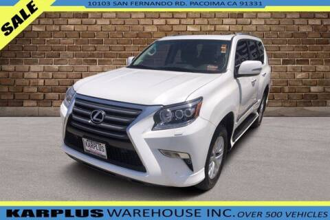 2016 Lexus GX 460 for sale at Karplus Warehouse in Pacoima CA