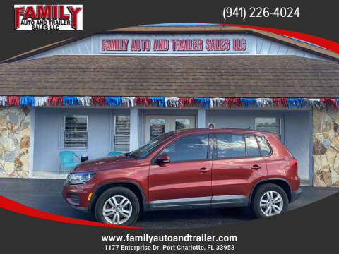 2012 Volkswagen Tiguan for sale at Family Auto and Trailer Sales LLC in Port Charlotte FL