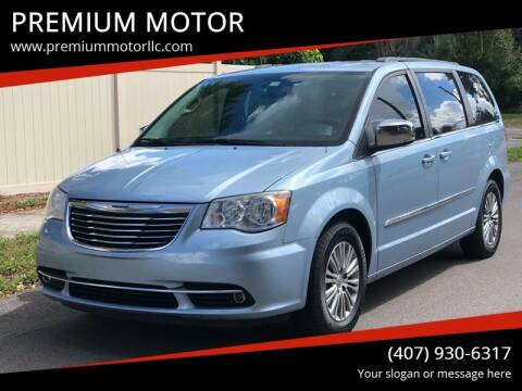 2013 Chrysler Town and Country for sale at PREMIUM MOTOR in Orlando FL