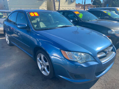 2008 Subaru Legacy for sale at North County Auto in Oceanside CA