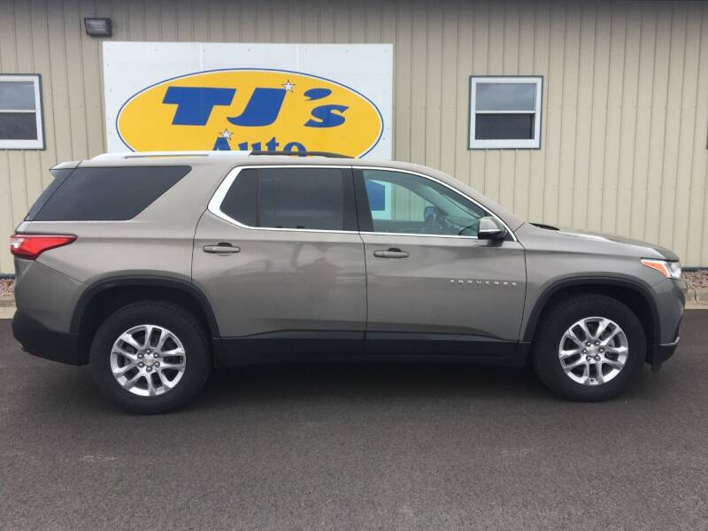2018 Chevrolet Traverse for sale at TJ's Auto in Wisconsin Rapids WI