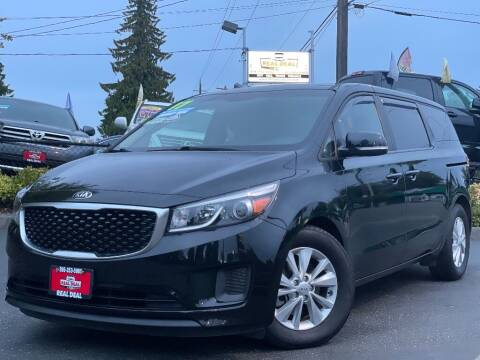 2017 Kia Sedona for sale at Real Deal Cars in Everett WA
