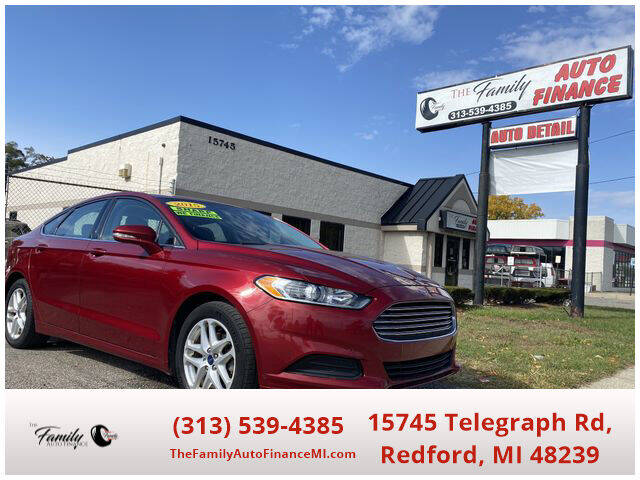 2015 Ford Fusion for sale at The Family Auto Finance in Redford MI