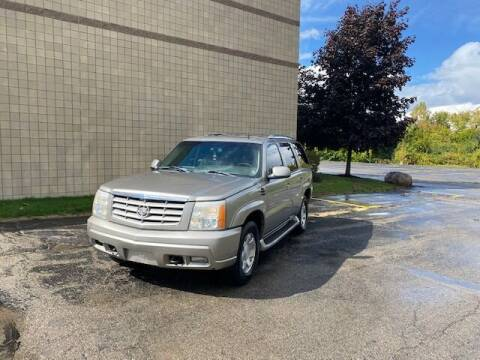 2002 Cadillac Escalade for sale at Caruzin Motors in Flint MI