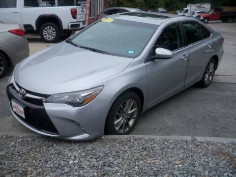 2017 Toyota Camry for sale at Charlies Auto Village in Pelham NH