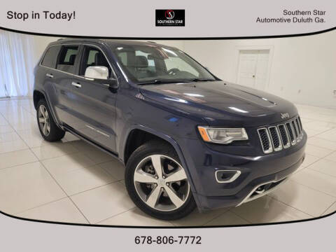 2014 Jeep Grand Cherokee for sale at Southern Star Automotive, Inc. in Duluth GA