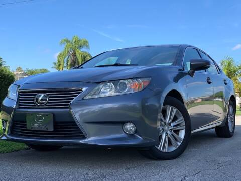 2013 Lexus ES 350 for sale at HIGH PERFORMANCE MOTORS in Hollywood FL