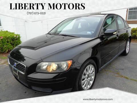 2005 Volvo S40 for sale at Liberty Motors in Chesapeake VA