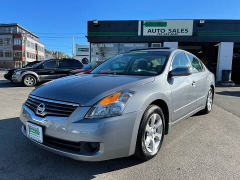 2008 Nissan Altima for sale at Wakefield Auto Sales of Main Street Inc. in Wakefield MA