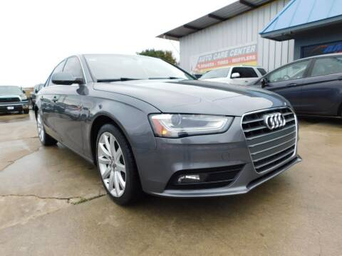 2013 Audi A4 for sale at AMD AUTO in San Antonio TX