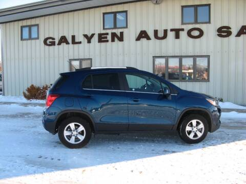 2020 Chevrolet Trax for sale at Galyen Auto Sales Inc. in Atkinson NE