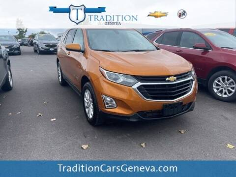 2019 Chevrolet Equinox for sale at Tradition Chevrolet Buick in Geneva NY