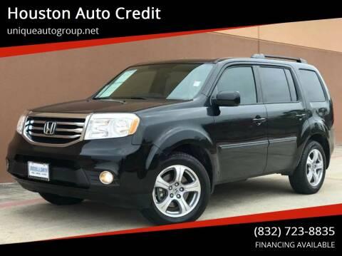 2014 Honda Pilot for sale at Houston Auto Credit in Houston TX