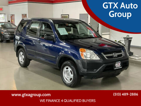 2002 Honda CR-V for sale at GTX Auto Group in West Chester OH