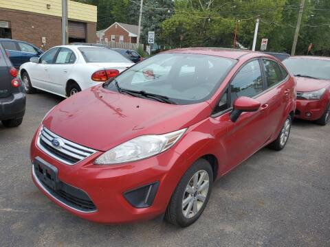 2011 Ford Fiesta for sale at J & J Used Cars inc in Wayne MI