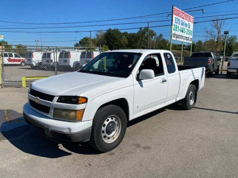 2009 Chevrolet Colorado for sale at RODRIGUEZ MOTORS CO. in Houston TX