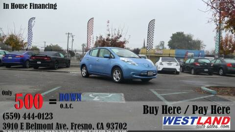 2011 Nissan LEAF for sale at Westland Auto Sales in Fresno CA