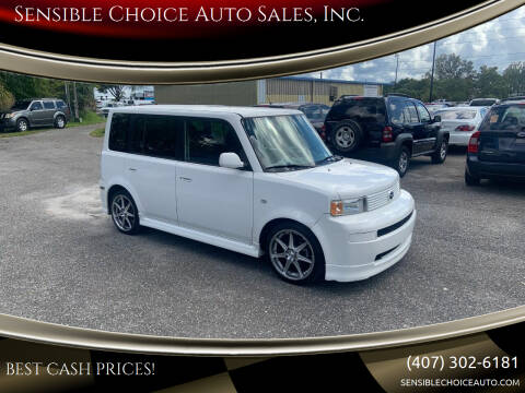 2005 Scion xB for sale at Sensible Choice Auto Sales, Inc. in Longwood FL