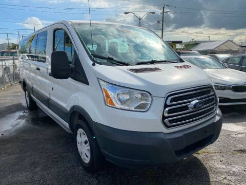 2015 Ford Transit Passenger for sale at MIAMI AUTO LIQUIDATORS in Miami FL