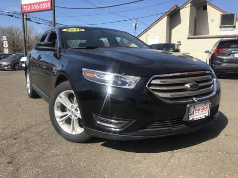 2018 Ford Taurus for sale at PAYLESS CAR SALES of South Amboy in South Amboy NJ