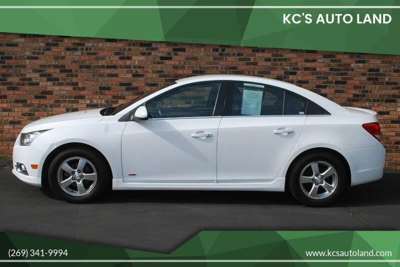 2014 Chevrolet Cruze for sale at KC'S Auto Land in Kalamazoo MI