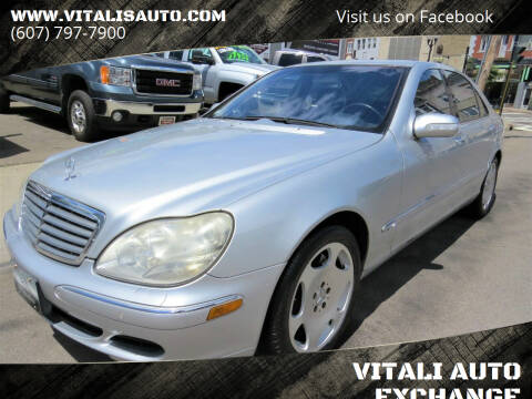 2004 Mercedes-Benz S-Class for sale at VITALI AUTO EXCHANGE in Johnson City NY