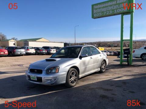 2005 Subaru Impreza for sale at Independent Auto in Belle Fourche SD