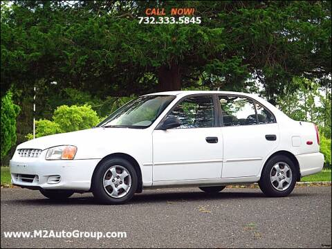 2001 Hyundai Accent for sale at M2 Auto Group Llc. EAST BRUNSWICK in East Brunswick NJ