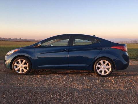 2013 Hyundai Elantra for sale at M AND S CAR SALES LLC in Independence OR