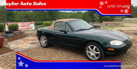 2000 Mazda MX-5 Miata for sale at Taylor Auto Sales in Springdale AR