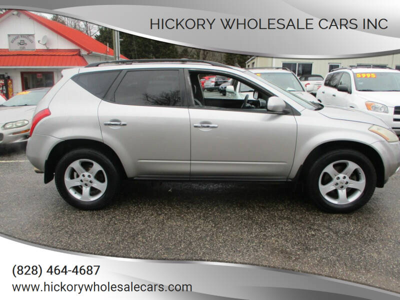2005 Nissan Murano for sale at Hickory Wholesale Cars Inc in Newton NC