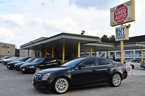 2012 Cadillac CTS for sale at Houston Used Auto Sales in Houston TX
