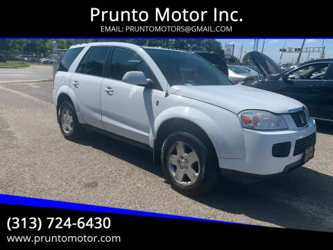 2007 Saturn Vue for sale at Prunto Motor Inc. in Dearborn MI