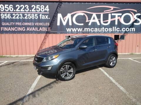 2014 Kia Sportage for sale at MC Autos LLC in Pharr TX