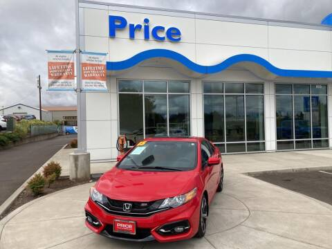 2015 Honda Civic for sale at Price Honda in McMinnville in Mcminnville OR