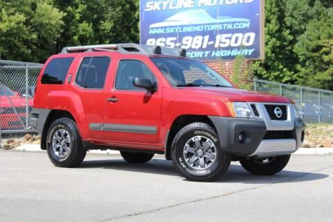 2015 Nissan Xterra for sale at Skyline Motors in Louisville TN