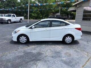 2014 Hyundai Accent for sale at Howard Johnson's  Auto Mart, Inc. in Hot Springs AR