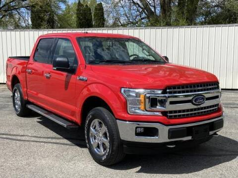 2018 Ford F-150 for sale at Miller Auto Sales in Saint Louis MI