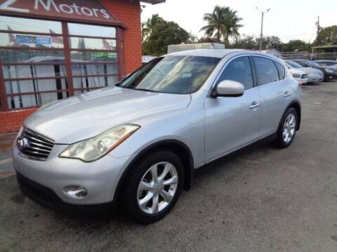 2010 Infiniti EX35 for sale at Z MOTORS INC in Hollywood FL