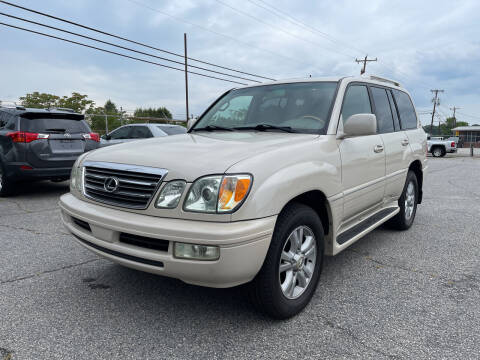 2005 Lexus LX 470 for sale at Signal Imports INC in Spartanburg SC