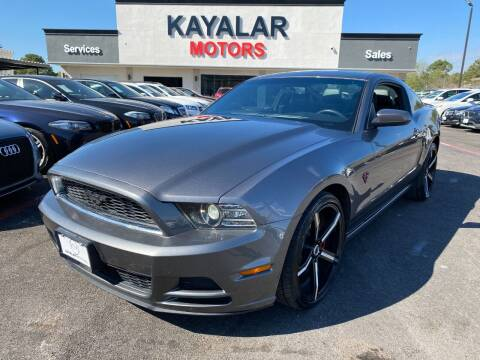 2014 Ford Mustang for sale at KAYALAR MOTORS in Houston TX