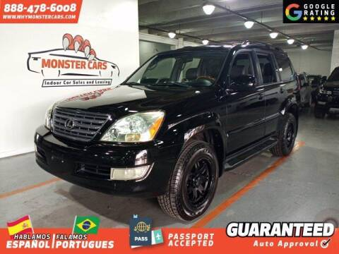 2007 Lexus GX 470 for sale at Monster Cars in Pompano Beach FL