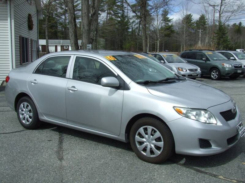 2010 Toyota Corolla for sale at DUVAL AUTO SALES in Turner ME