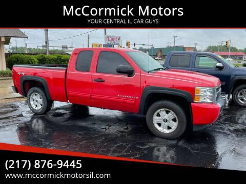 2009 Chevrolet Silverado 1500 for sale at McCormick Motors in Decatur IL