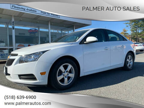 2014 Chevrolet Cruze for sale at Palmer Auto Sales in Menands NY